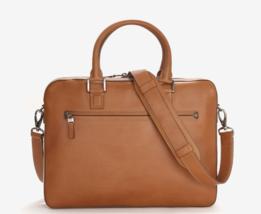 Trafalgar Men's Coleton Tan Leather Briefcase - $539.55