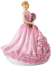 Royal Doulton I Love You Red Rose Language of Flowers HN 5837 New In Box - $141.90