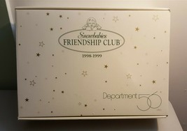 Dept 56 Snowbabies FRIENDSHIP CLUB 1998-1999 BABY IT'S COLD OUTSIDE 4 Pi... - $29.95