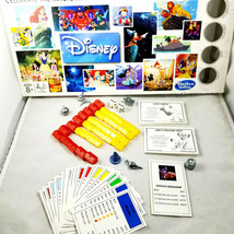 Disney Monopoly Animation Game Pieces Pewter Tokens Cards Buildings Dice - $18.69
