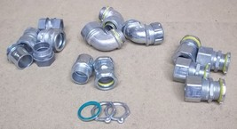 Assorted Conduit Fittings 1in Lot of 17 - $27.55
