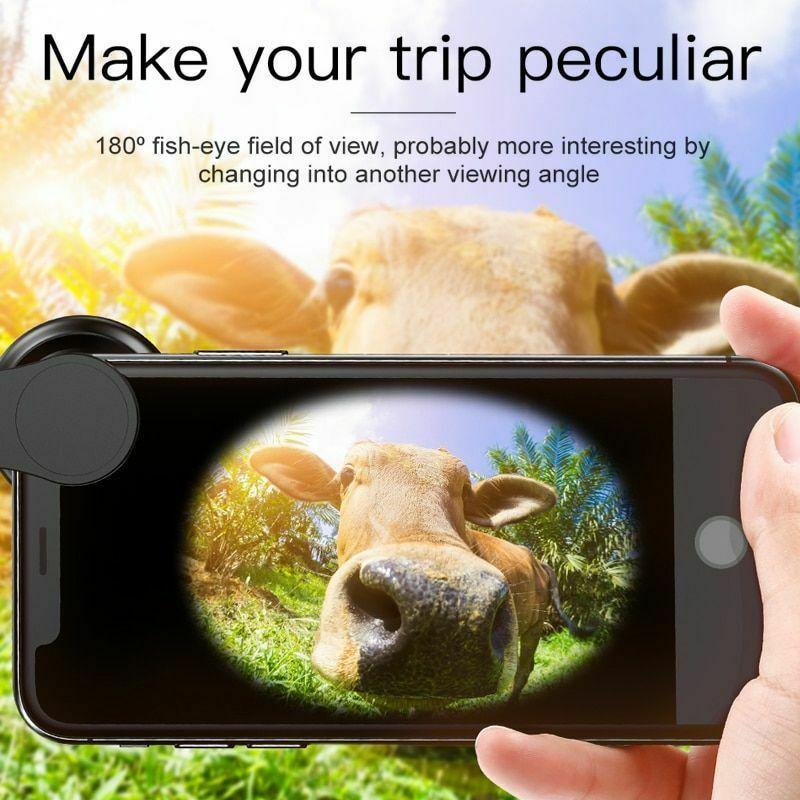 Phone Lens iPhone Xs Max Xr X 8 Samsung S9 Huawei Macro Camera 15x 120°HD Wide