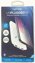 myCharge Qi Certified Wireless Charging Pad for iPhone /Android 5000mAh White image 1