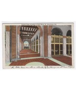 Lobby Interior Post Office St Petersburg FL postcard - $4.46