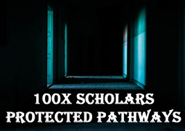100X 7 SCHOLARS PROTECTED PATHWAYS PROTECT ALL AREAS OF LIFE MAGICK RING... - $49.89
