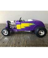 1932 Ford High Tech Street Rod, Purple/Yellow. ERTL American Muscle 1/18... - $67.27