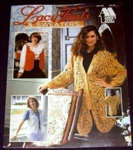 Lacy Vests & Sweaters - Annie's Attic (1994) Knitting - $3.74