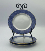 1980 Block Spal Portugal BLUE SKIES Lot Of 3 Bread & Butter Plates 6 5/8... - $24.74