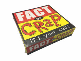 University Games Fact or Crap It's Your Call Family Fun Party Board Game - $10.00