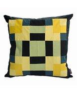 DRAGON SONIC Colorful Canvas Throw Pillowcase, Cushion Cover 18.8 x 18.8... - $27.08