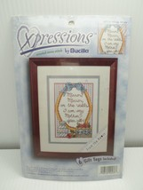 Counted Cross Stitch Kit Xpressions by Bucilla 42536 Mirror Mirror 5x7 Kingsley - $9.99