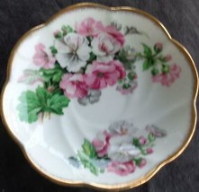 Vintage Salisbury Bone China Saucer - VGC - England - BEAUTIFUL FLORAL P... - $11.87