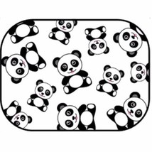 Window Shade - Window Cling with Cute Panda Pattern - $4.94