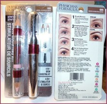 NIP PHYSICIANS FORMULA EYE BOOSTER 4-IN-1 BROW BOOSTING KIT #6895 Brown - $12.95