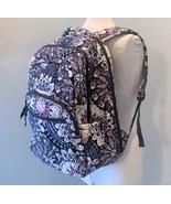 Vera Bradley Essential Large Backpack Laptop Bag ~ Mimosa Medallion Patt... - $88.95