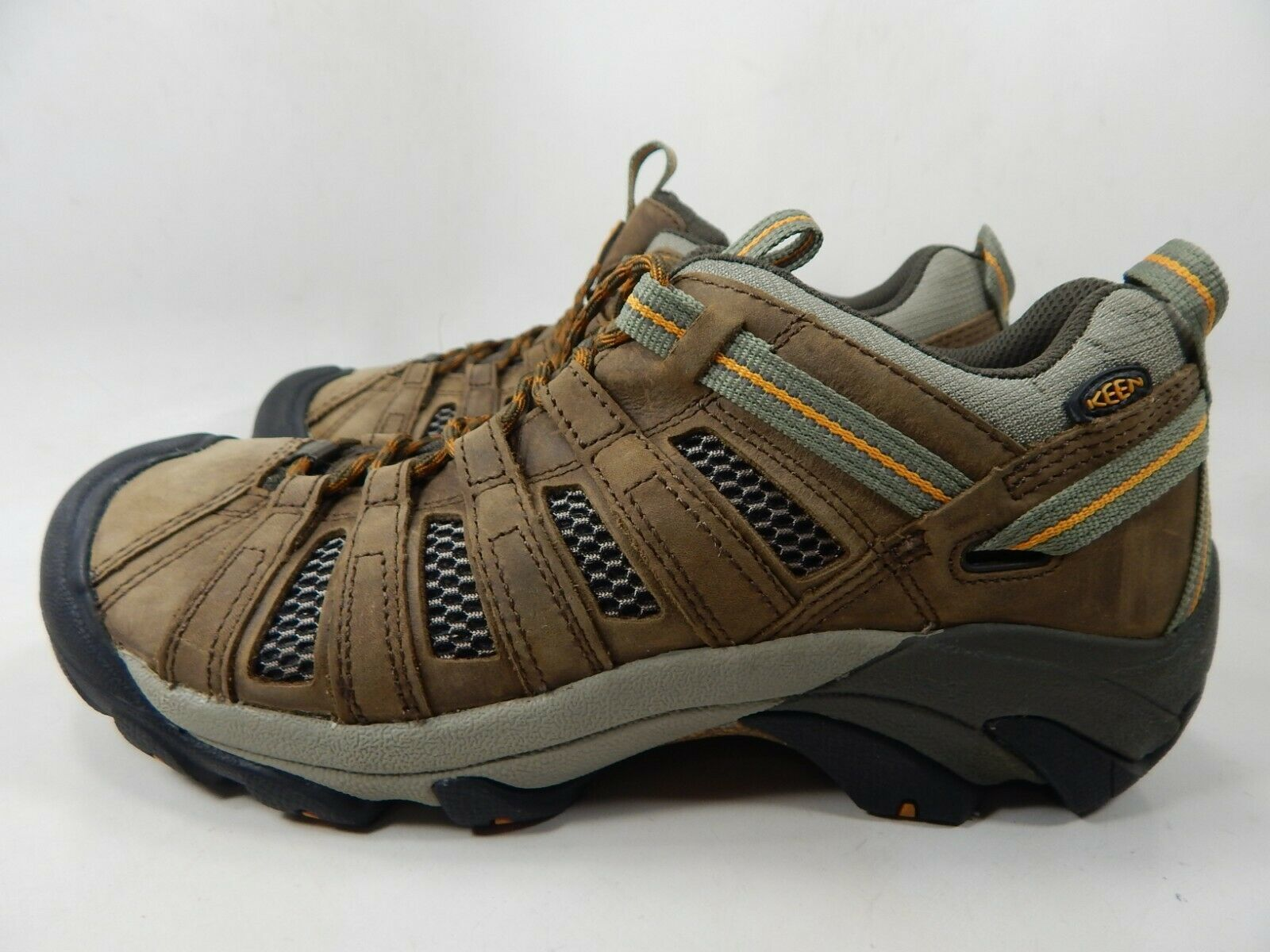Keen Voyageur Low Top Size US 10.5 M (D) EU 44 Men's Trail Hiking Shoes Brown image 4