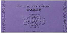 Harney & Sons Fruity Black Tea with Bergamot, Paris, 50 Tea Bags - $13.10