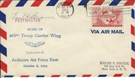 Ardmore OK Air Force Base Airport Dedication October 6 1953 AAMC #Z146 - $9.90