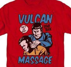 Star Trek t-shirt Kirk and Spock Vulcan Massage graphic tee CBS1738 image 4