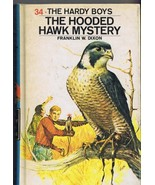 Hardy Boys #34 Hooded Hawk Mystery ORIGINAL Vintage 1971 Hardcover Book   - $13.99