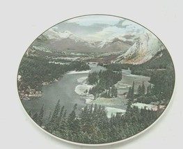 "Royal Doulton Bow Valley Banff National Park 10 1/2"" Plate Made in England - $22.72"
