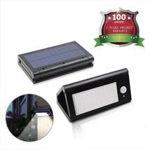 LED Solar Power Motion Sensor Flood Light Yard Outdoor Garden Lamp Waterproof US - $14.35