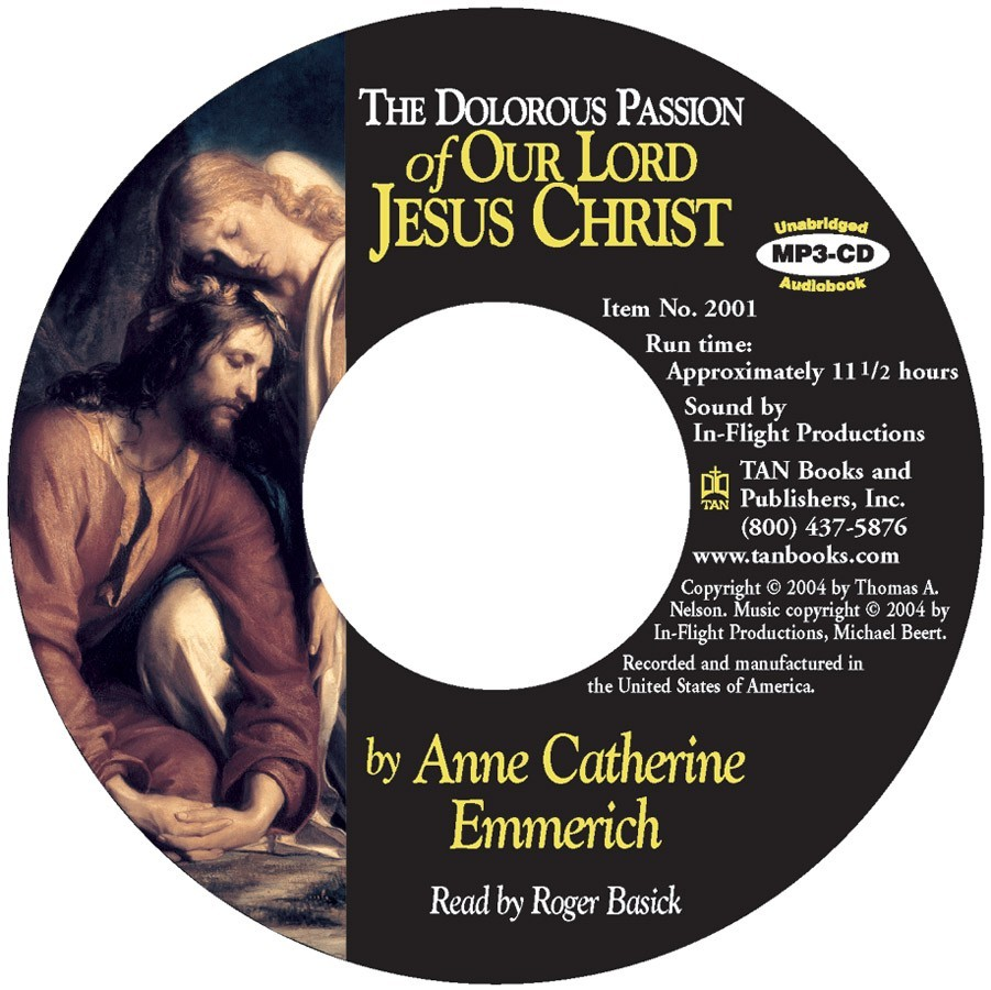 The dolorous passion of our lord jesus christ  mp3 cd   x