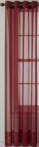 Studio By JCP Home Sheer Grommet Single Curtain Panel Addison Brick Red ... - $17.95