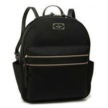 Nwt Kate Spade New York Wilson Road Bradley Backpack Zipper Nylon Black 4710 New - $152.46