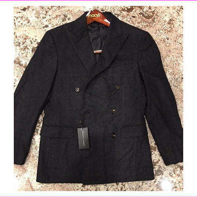 Primary image for $1895.00 Ralph Lauren Black Label DB Nigel Coat  Italy Size  40 R