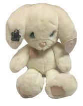 Vtg Precious Moments Snowball Bunny Rabbit Plush Stuffed Animal Toy Hear... - $79.19