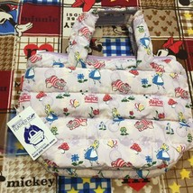 Disney Rootote Alice In Wonderland Cat White Rabbit Feather Bag Handbag ... - $84.15