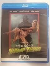 The Return of Swamp Thing - MVD Rewind [Blu-ray + DVD] + Poster image 1