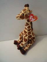 Ty Beanie Baby Original Jumpshot Giraffe 8 inch Mint with Tags 2003 - $12.87