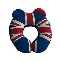 [British Flag] Durable Handmade Neck Pillow Canvas U-shaped Travel Pillow - £22.19 GBP