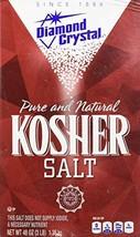 Diamond Crystal Pure and Natural Kosher Salt, 48oz Pack of 3 - $24.32