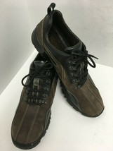 Rockport XCS Mens Shoes Oxfords Lace Up Waterproof Leather Dark Brown Si... - $37.39