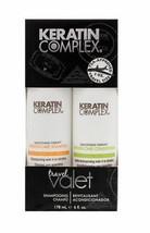 NEW Keratin Complex Care Travel Valets Shampoo & Conditioner 178ML 6 oz - $7.87