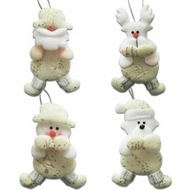 Christmas Hanging Pendant Tree Ornaments Xmas Decor Santa Claus Snowman ... - €20,10 EUR