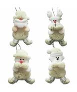 Christmas Hanging Pendant Tree Ornaments Xmas Decor Santa Claus Snowman ... - $22.76