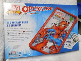 Operation Marvel SPIDER-MAN ADVENTURES BOARD GAME ( MISSING  PART) - $12.00