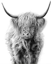 HIGHLAND COW (8)   FULL  XSTITCH KIT - $35.00