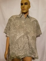 Cooke Street Reverse Print Hawaiian Shirt Hawaii Aloha Made In USA Mens ... - $24.57