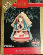 Hallmark Keepsake Ornament Magic Light And Motion Enchanted Clock 1992 (... - $9.85