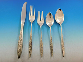 Spanish Lace by Wallace Sterling Silver Flatware Service for 8 Set 46 Pieces - $2,750.00