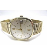 Vintage Hamilton Watch Thin-o-matic date 10k gold filled Classic - $341.28