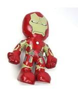 "Marvel Iron Man Plush Doll 14"" Vinyl Avengers Just Play Age of Ultron - $10.88"