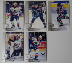 1996-97 Upper Deck UD Series 2 New York Islanders Team Set of 5 Hockey C... - $1.46