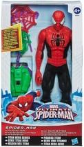 Marvel Ultimate Spider-man Titan Hero Series Spider-man with goblin atta... - $24.95
