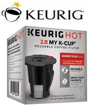 Keurig Hot 2.0 My K-CUP Reusable Coffee Filter Brewer Genuine Brand - $8.99